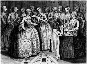 Орден Мопса. Гравюра 1745 г